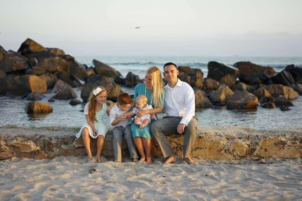 Dan Evans & Family