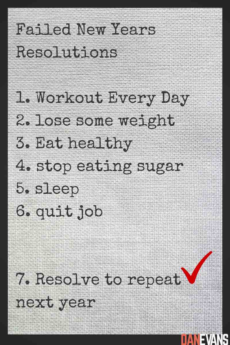 You Gave Up Your Resolutions, Now What