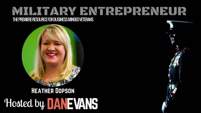 Heather Dopson | U.S. Air Force Veteran & Social Media Entrepreneur