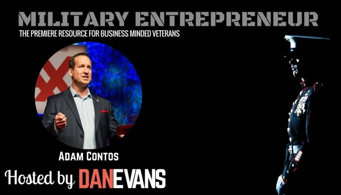 Adam Contos | U.S. Marine Entrepreneur & Senior Vice President of Marketing at RE/MAX