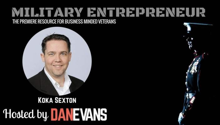 Koka Sexton | U.S. Army Veteran & Social Selling Expert