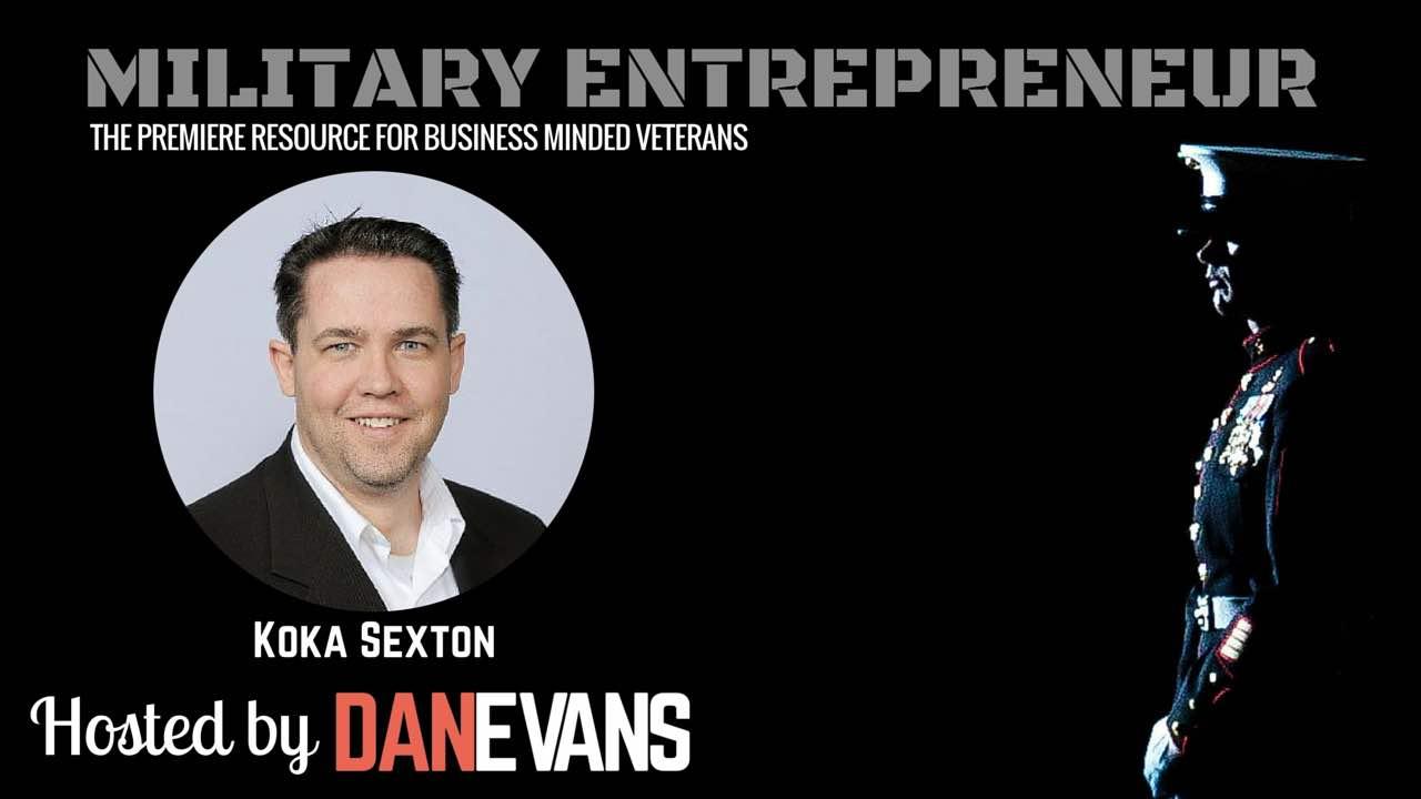 Koka Sexton   U.S. Army Veteran & Social Selling Expert