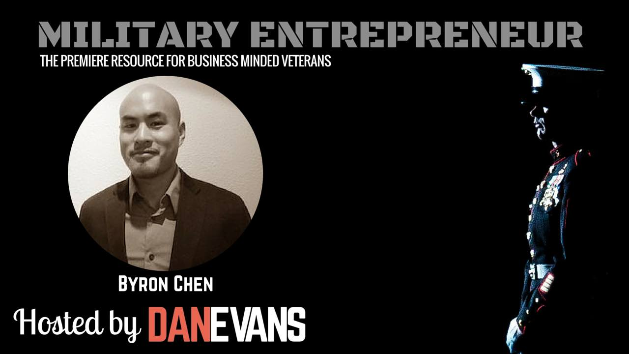 Byron Y. Chen   U.S. Marine Corps Captain & Founder of SuccessVets.com