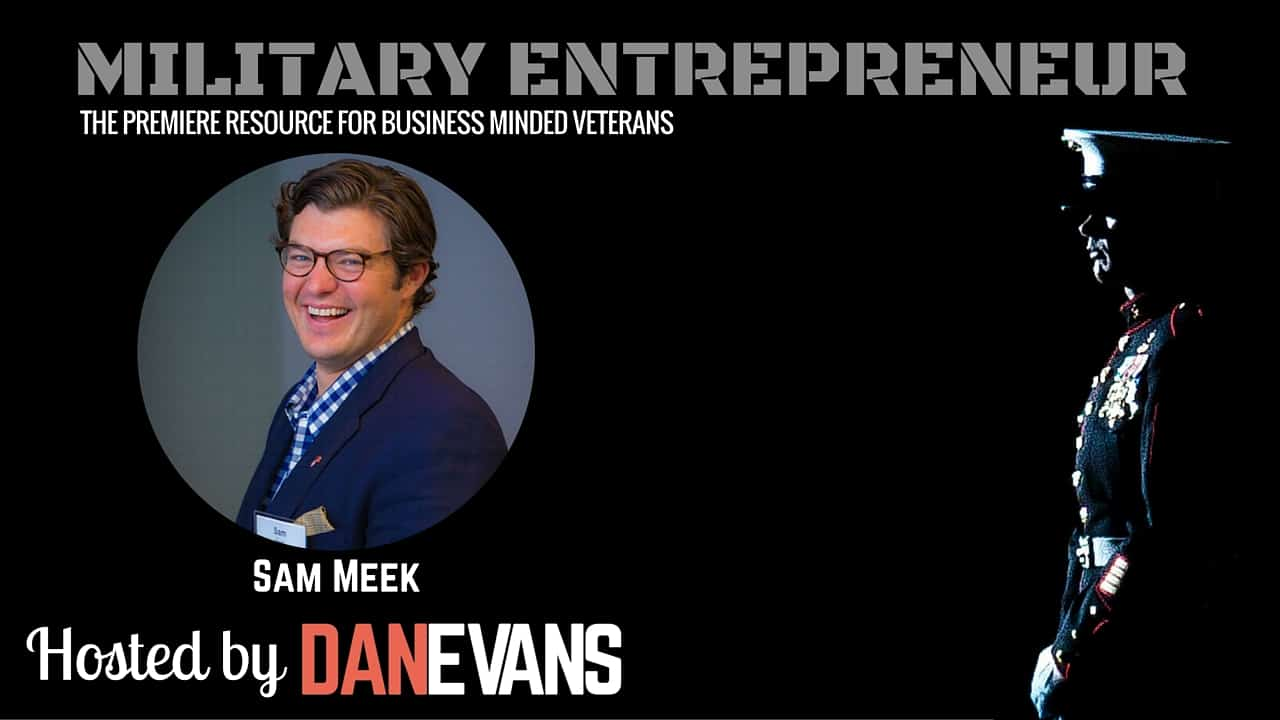 Sam Meek   U.S. Marine, Founder & CEO of Sandboxx
