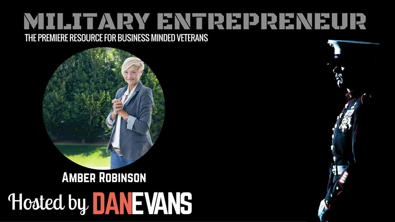 Amber Robinson   U.S. Army Veteran & Nonprofit Leader
