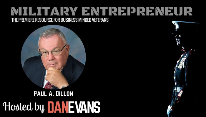 Paul A. Dillon | Vietnam Veteran & Entrepreneurship Advocate