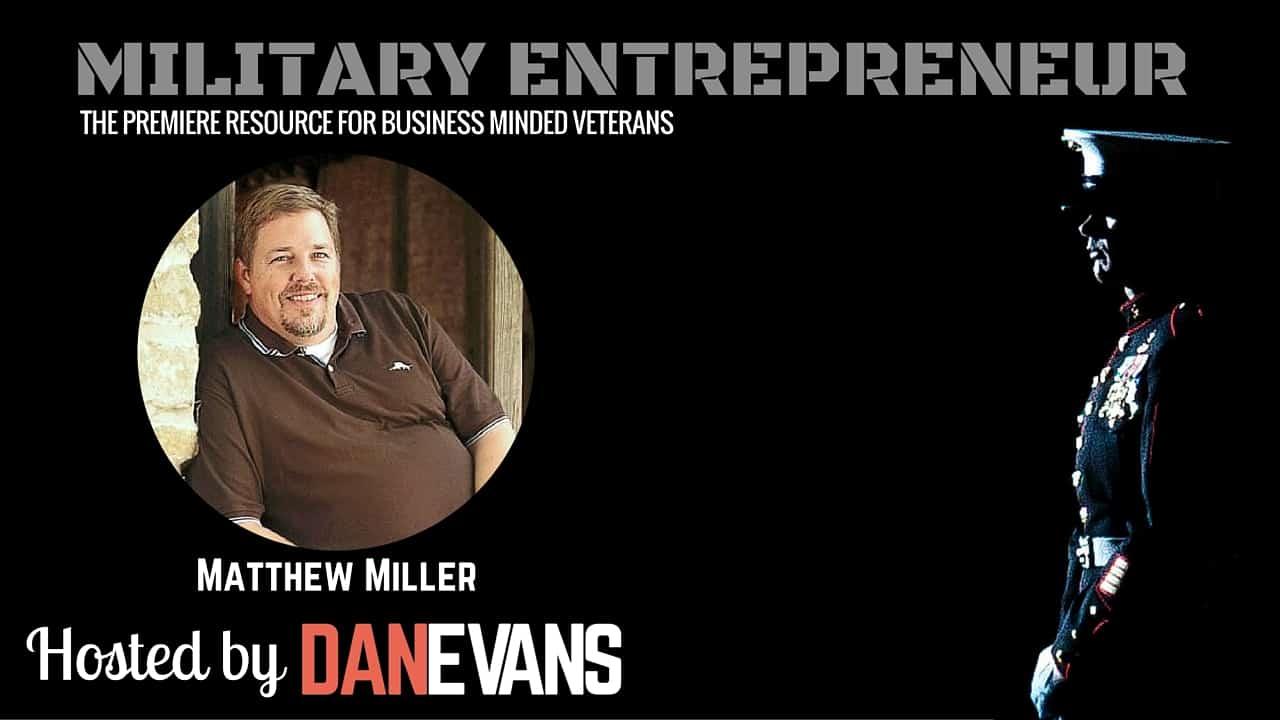 Matt Miller   Air Force Pilot Turned Franchise Entrepreneur
