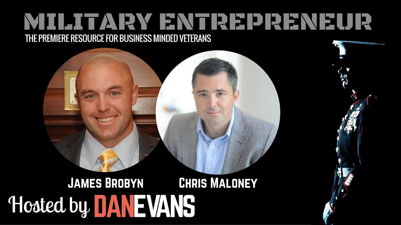 James Brobyn & Chris Maloney   Two Marine Officers Turned Entrepreneurs
