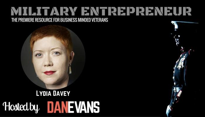 Lydia Davey | Marine Combat Correspondent Turned PR Pro