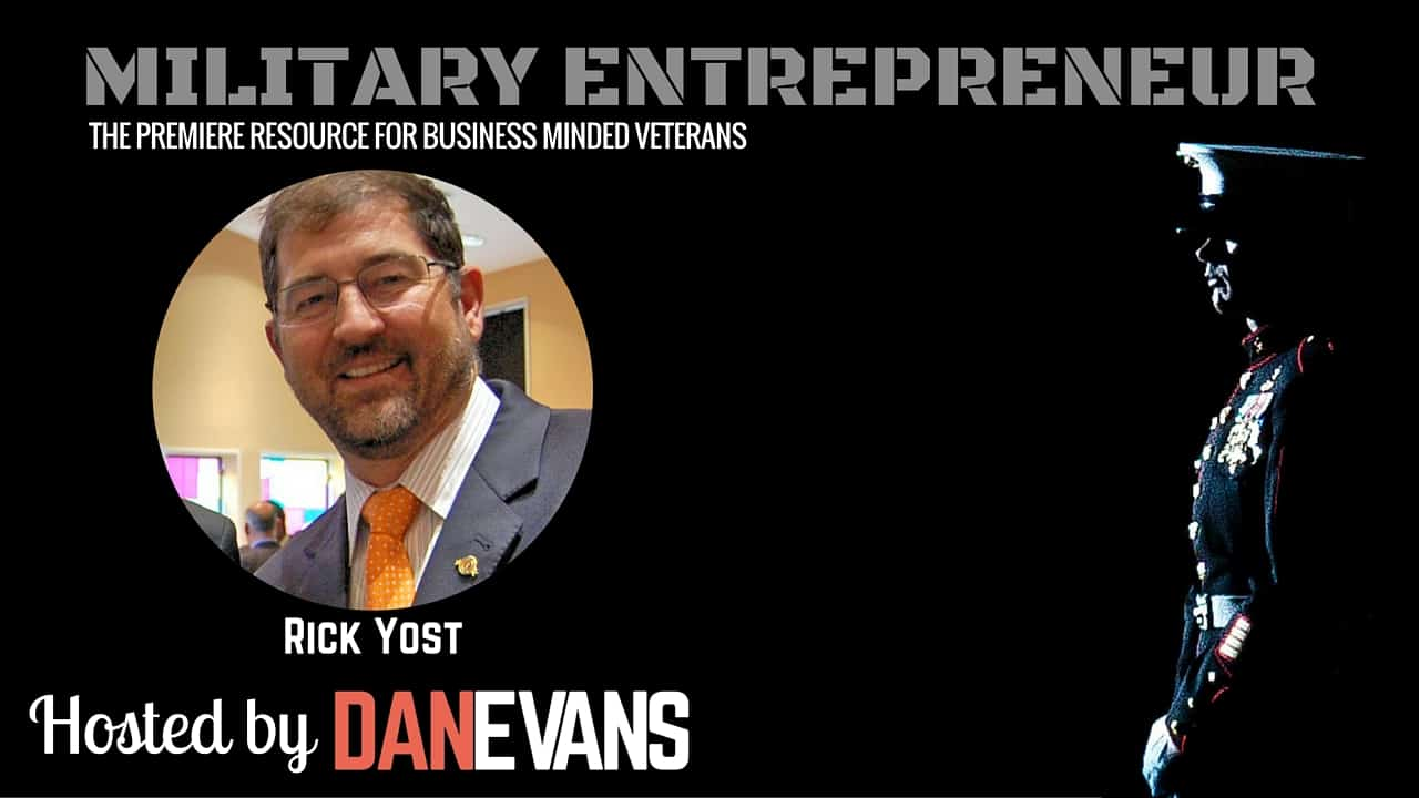 Rick Yost | Entrepreneur & Co-Founder of VeteransList
