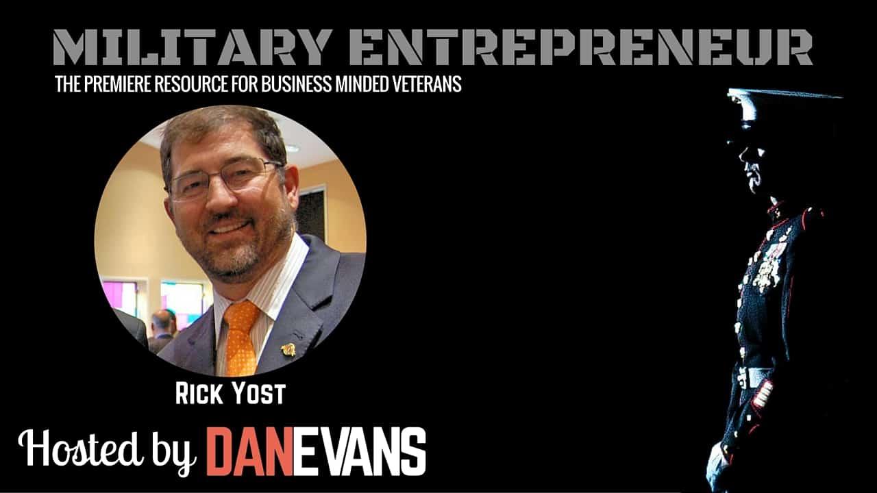 Rick Yost   Entrepreneur & Co-Founder of VeteransList