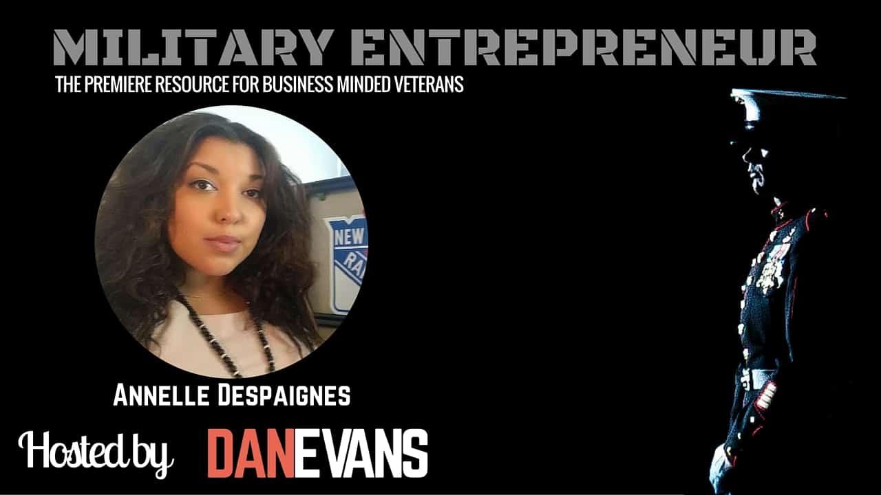 Annelle Despaignes   US Army to Fox Sports