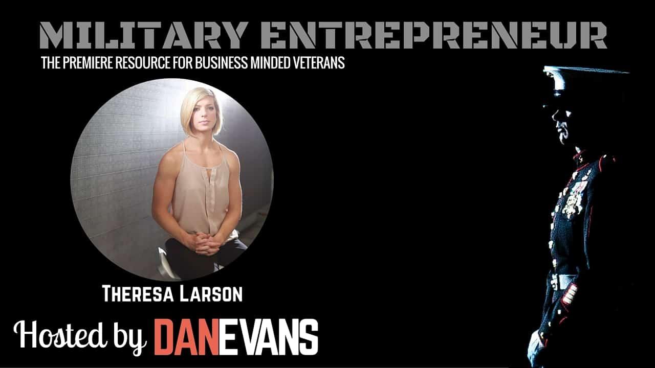 Dr. Theresa Larson   Marine Officer & Warrior