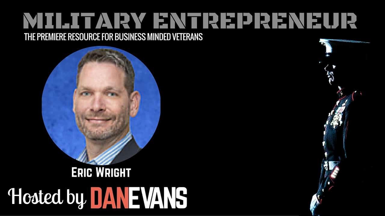 Eric Wright PhD   Navy Veteran & Co-Founder of Vets2PM.com