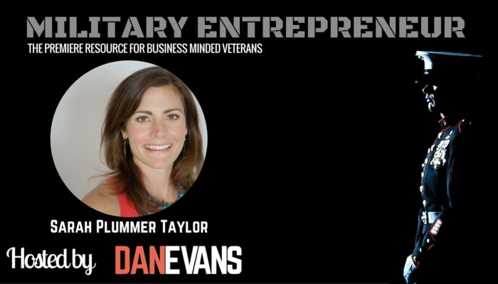 Sarah Plummer Taylor | Marine Turned Author, Speaker & Entrepreneur